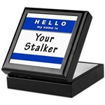 Hello My Name Is: Your Stalker Keepsake Box