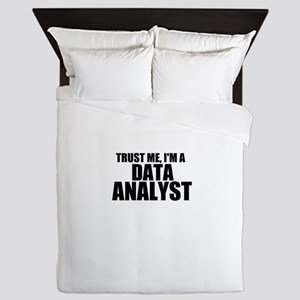 Trust Me, I'm A Data Analyst Queen Duvet