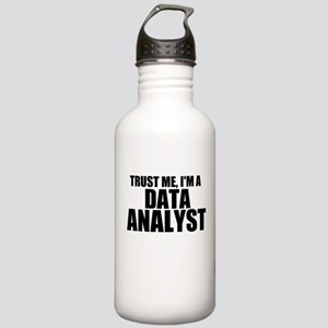 Trust Me, I'm A Data Analyst Water Bottle