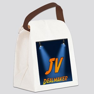 jvdealmaker-logo-2000 copy Canvas Lunch Bag