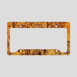 clockwork-collage_18x12-5 License Plate Holder