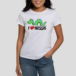 I Love Nessie Women's T-Shirt
