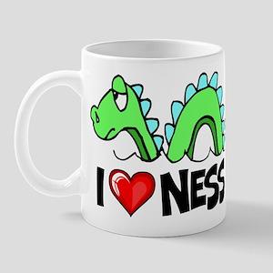 I Love Nessie Mug