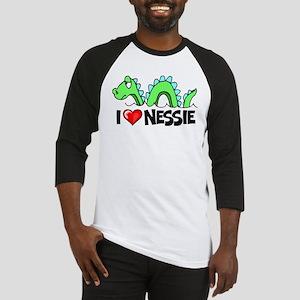I Love Nessie Baseball Jersey