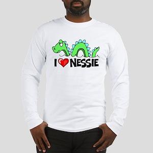 I Love Nessie Long Sleeve T-Shirt