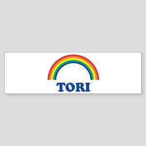 TORI (rainbow) Bumper Sticker