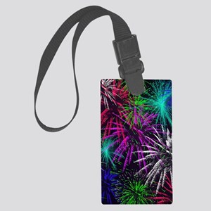 4th of july Large Luggage Tag