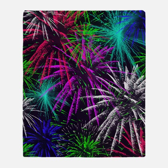 4th of july Throw Blanket