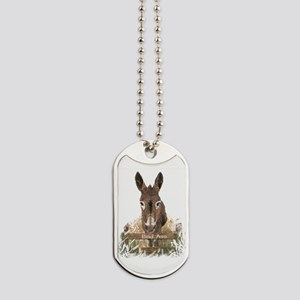 Bad Ass Fun Donkey Humor Quote Dog Tags