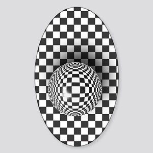 checkky Sticker (Oval)