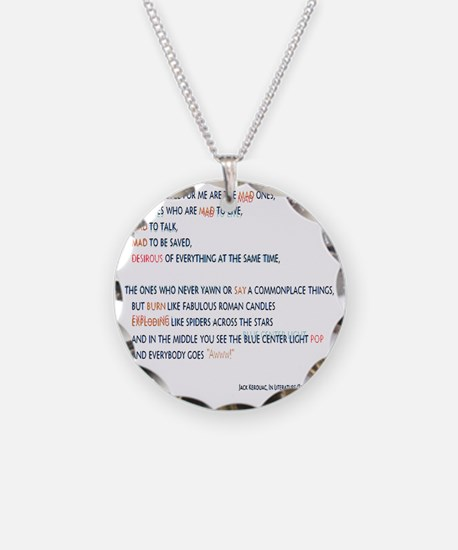 Kerouac - the mad ones copy Necklace