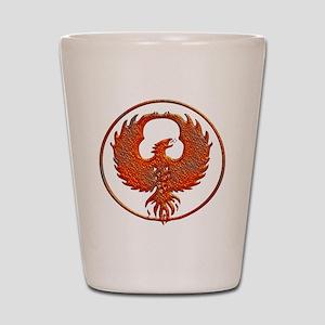 phoenix Shot Glass