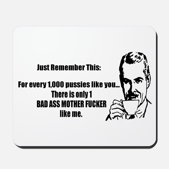 Bad Ass MF Mousepad