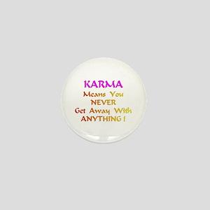 KarmaMeansXXX Mini Button