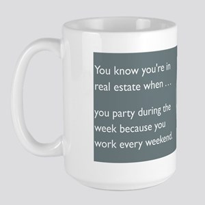 Party Like an Agent Large Mug