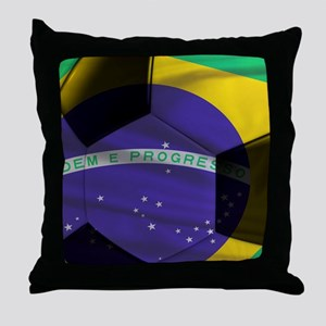 brazil calendar Throw Pillow