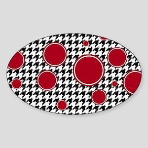 5.78x3.207 Sticker (Oval)