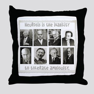 neurosis Throw Pillow