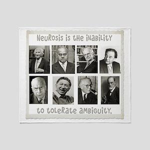 neurosis Throw Blanket