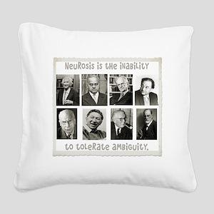 neurosis Square Canvas Pillow