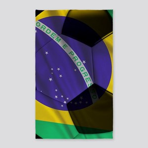 brazil large poster 3'x5' Area Rug