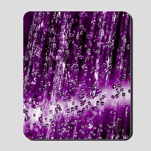 purple rain Mousepad