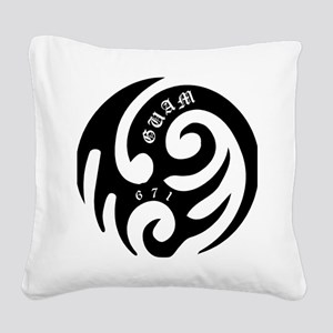 tribal Square Canvas Pillow