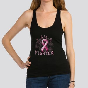 I Am A Fighter (Pink) Racerback Tank Top