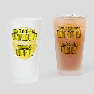 lemonade sucks Drinking Glass
