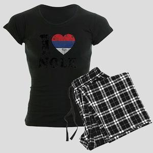 Nole Grunge -dk Women's Dark Pajamas
