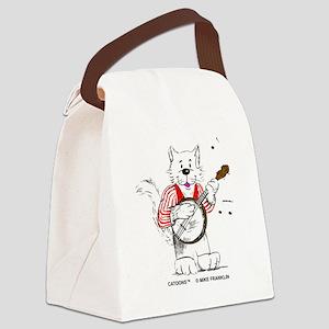 Banjo TransBack Black Coprite Canvas Lunch Bag