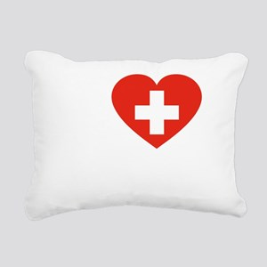 Love Roger -dk Rectangular Canvas Pillow