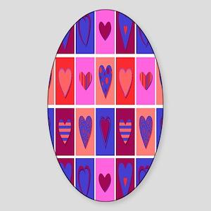 darkhearts Sticker (Oval)