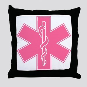 staroflife-pink Throw Pillow