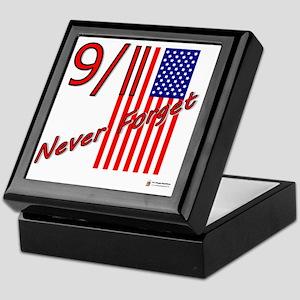 911 never forget Keepsake Box