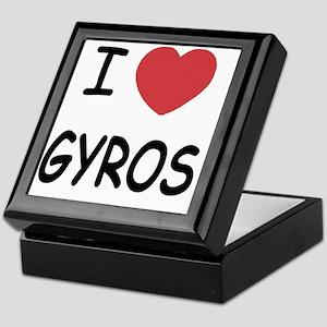 GYROS Keepsake Box