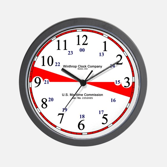CafePress_redonly_nohands Wall Clock