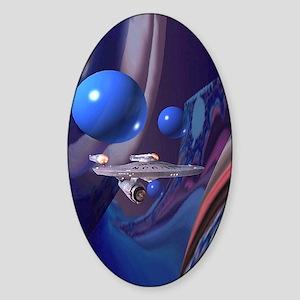 bythstm Sticker (Oval)