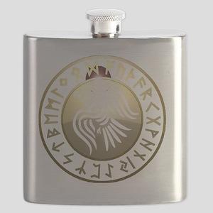 rune raven Flask