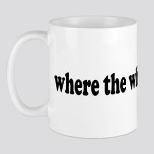 Where the white women at? Mug