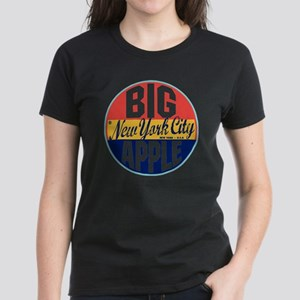 New York Vintage Label W Women's Dark T-Shirt
