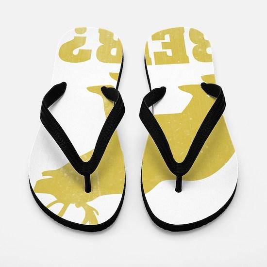beardeer4 Flip Flops