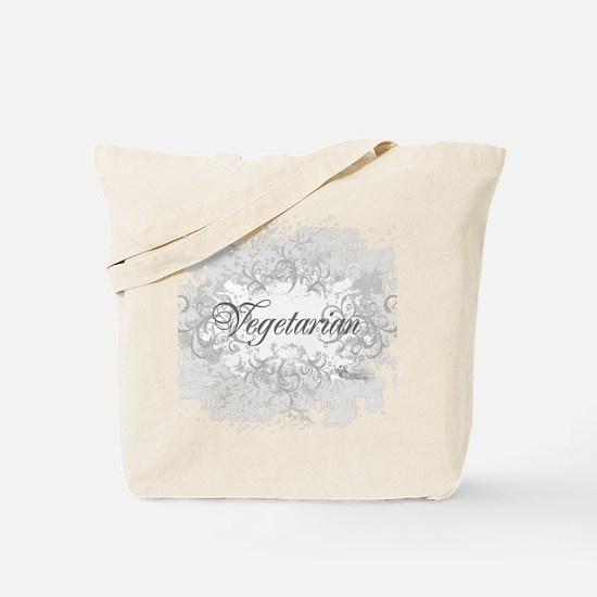 vegetarian-blanc-05 Tote Bag