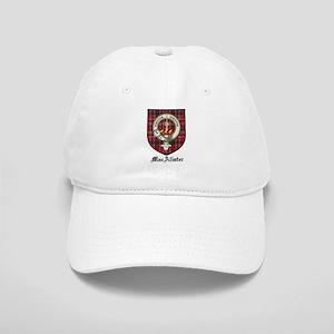 MacAlister Clan Crest Tartan Cap