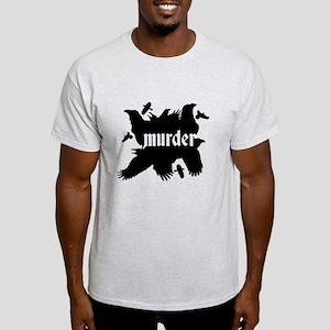 Murder of Crows Ash Grey T-Shirt