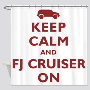 keep-calm-fj Shower Curtain