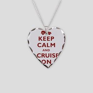 keep-calm-fj Necklace Heart Charm
