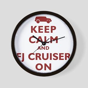 keep-calm-fj Wall Clock