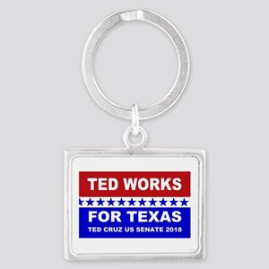 Ted works for Texas Landscape Keychain