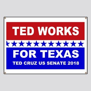 Ted works for Texas Banner